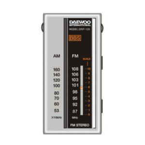Radio Portátil DAEWOO DRP-129