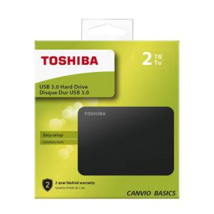 DISCO DURO TOSHIBA DTB420 2TB CANVIO BASICS