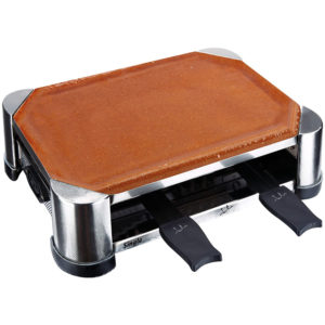 GRILLRACLETTE TERRACOTA HECHA A MANO