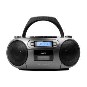 RADIO CASSETTE AIWA BBTC 550MG BOOMBOX BLUETOOTH CD USB