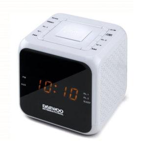 RADIO DESPERTADOR DAEWOO DCR450W
