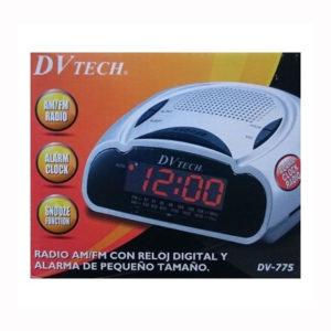 RADIO DESPERTADOR DV TECH DV775