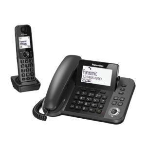 TELEFONO INALAMBRICO PANASONIC KX TGF310EXM 2 EN 1 BASE FIJO