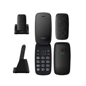 QUBO NEO2 TELEFONO MOVIL NEGRO