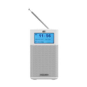 RADIO PORTATIL DAB KENWOOD CR M10DAB CON BLUETOOTH BLANCO