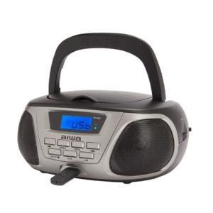 RADIO CD PORTATIL AIWA BBTU 300BK COLOR NEGRO