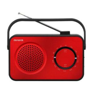 RADIO PORTATIL DE SOBREMESA AIWA R 190RD ROJO