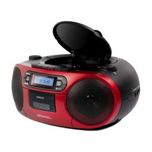 RADIO CASSETTE AIWA BBTC 550RD BOOMBOX BLUETOOTH CD USB