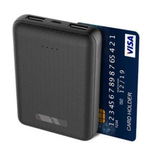 BATERIA MINI EXTERNA KSIX 10000 MAH USB CAB MICRO USB NEGRO1
