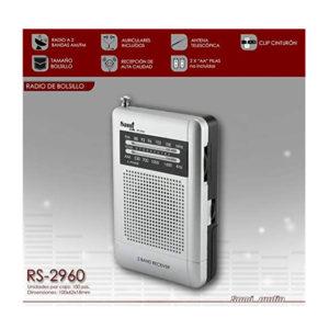 RADIO PORTATIL DE BOLSILLO SAMI RS 29601