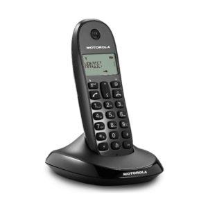 TELEFONO INALAMBRICO MOTOROLA C1001L NEGRO1