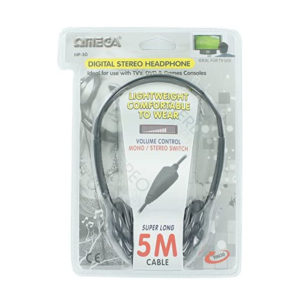 AURICULAR OMEGA TELEVISION CABLE DE 5M