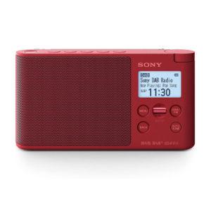 RADIO PORTATIL SONY XDR S41DRC DAB DAB PLUS ROJO