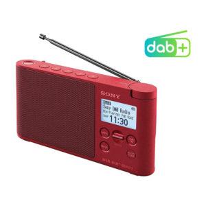 RADIO PORTATIL SONY XDR S41DRC DAB DAB PLUS ROJO1