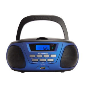 RADIO CD PORTATIL AIWA BBTU 300BK COLOR AZUL