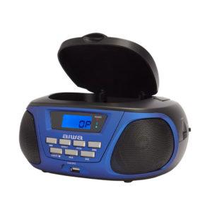 RADIO CD PORTATIL AIWA BBTU 300BK COLOR AZUL1