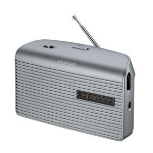 RADIO GRUNDIG MUSIC 60 GRN1510 PORTATIL PLATA
