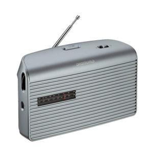 RADIO GRUNDIG MUSIC 60 GRN1510 PORTATIL PLATA1