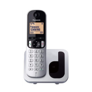 TELEFONO INALAMBRICO PANASONIC KXTGC210SPS PLATA